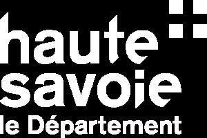 Logo Departement Haute-Savoie Blanc